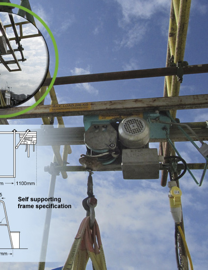 RPH - Construction Hoist - 500kg - Gantry Hoist